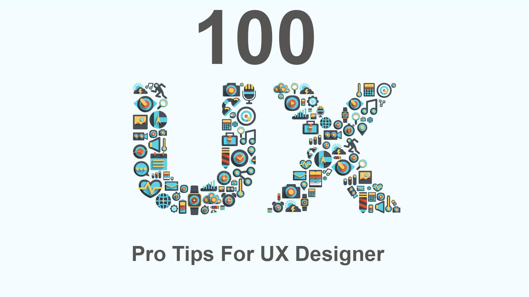 100 pro ux tips
